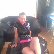 Linette having fun in PVC