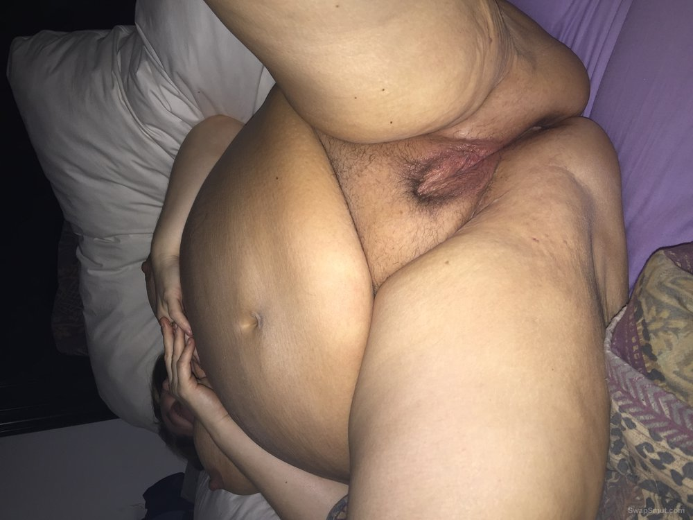 Ass hole wet