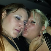 Crissy and me - really close lesbo friend