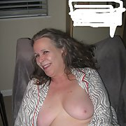 Sweet pussy showing off her tits mature woman revealing breasts