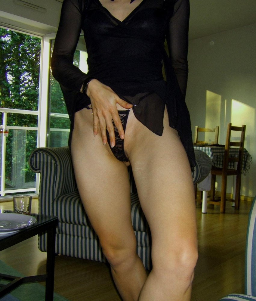 sexy swinger wife in lingerie and nude photos