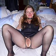 A sexy mature Scottish mom we met while on holiday