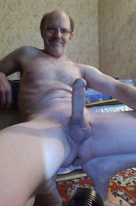 My Smooth Shaved Erotic Hard Cock