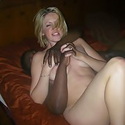 Blonde Wife Interracial, Kissing Loving and Fucking