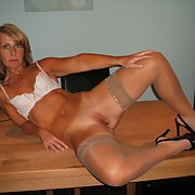 Sexy milf show off her perfect body around her home part 8