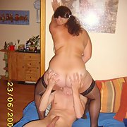 Having fun with my bi friend and her hubby at their house