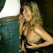 Erotikshooting bei Nacht, Yvonne zeigt was sie zu bieten hat
