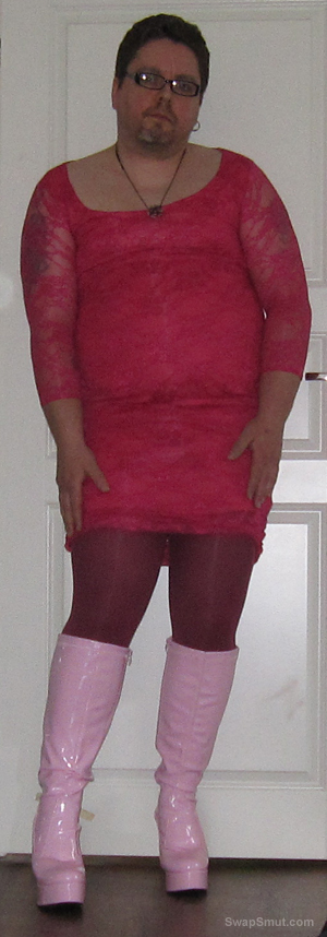 Sissy boy jamie exposed to the world dressed like a girl