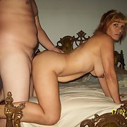 Mature amateur doggy style sex pictures with husband