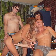 Just some sexy swinger friend having fun at home hot girlfriends