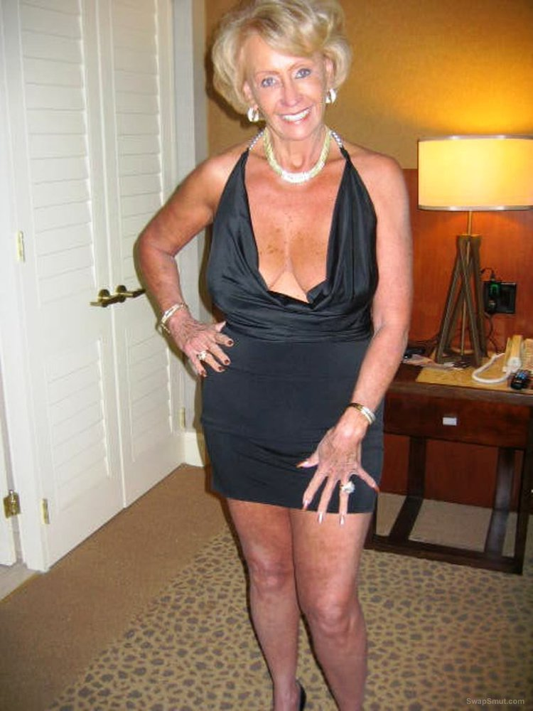 Granny just turned 70 and is still hot and horny