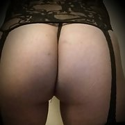 Thick Asian Ass, A little Show with, her Ass Wearing Lingerie