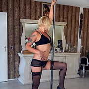 A hot and horny week end away with my girls stripper pole