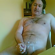 Cum to cam with Barbara more sticky sperm photos