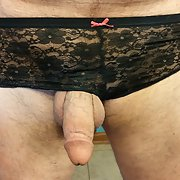 My new favorite pair of my wife's panties, Love these