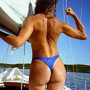 beach string