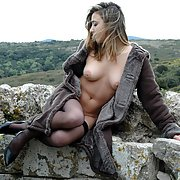 Hi some pics of me a natural girl revealing all outdoors