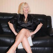 Lovely mature slut still has the body to impress the men in her life