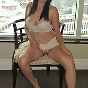 Milf Mexican hot Latina cougar wife, showing her ass