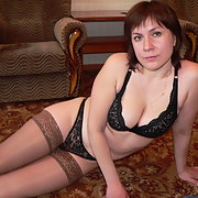 Ket4 wife in lingerie posing sucking and fucking lover