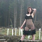 Famous German webslut Julia from Kassel exposed