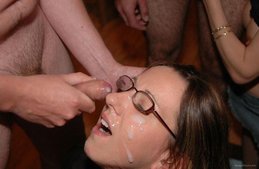 CUM slut CARLY DRAINING YOU of SPERM Covered Amateur Facial