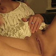 Wife's Yummy Pussy on show