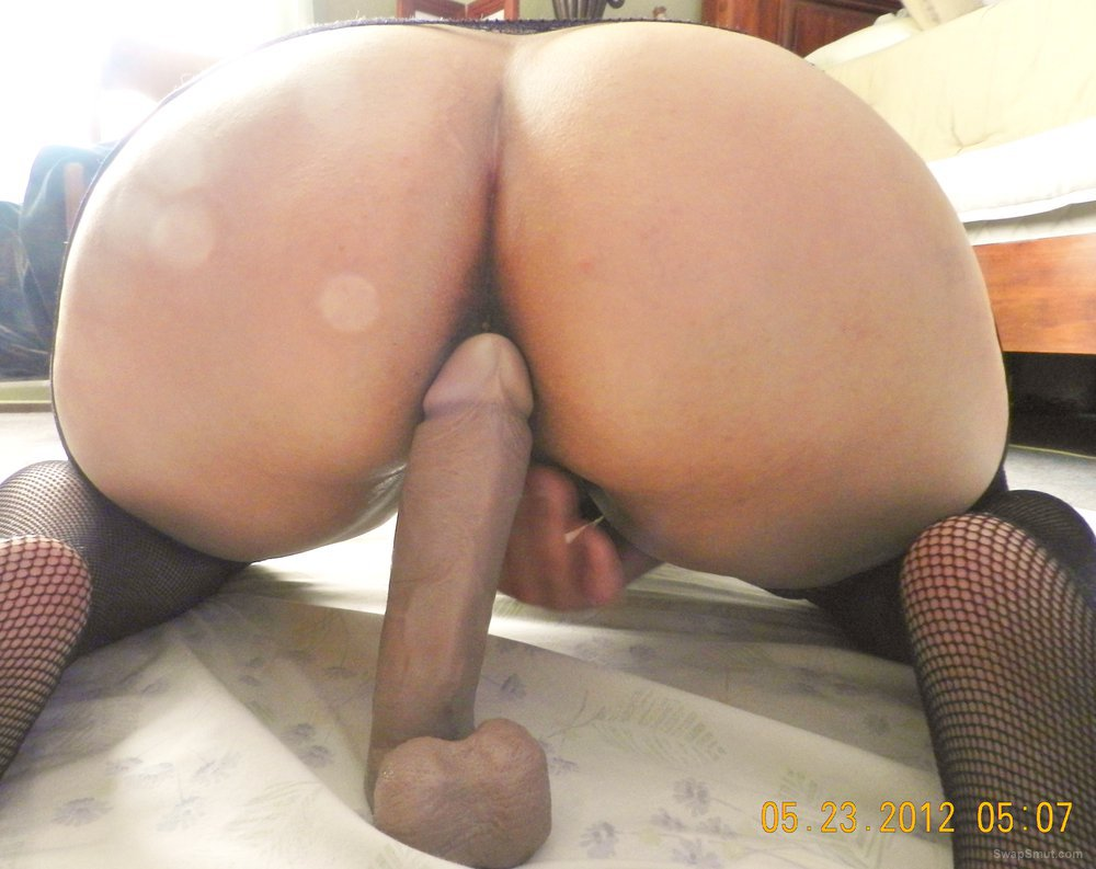 Bbw Big Ass Riding Dildo