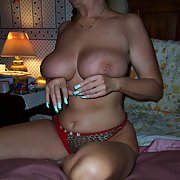 Mature blonde with huge tits, busty slut you like her adult photos