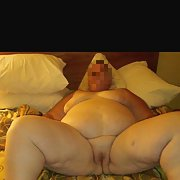 My bbw 54 year old wife in all her naked glory hope you like