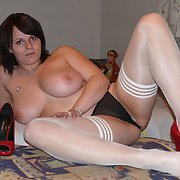CHUBBY MILF (FRIEND) in sexy lingerie