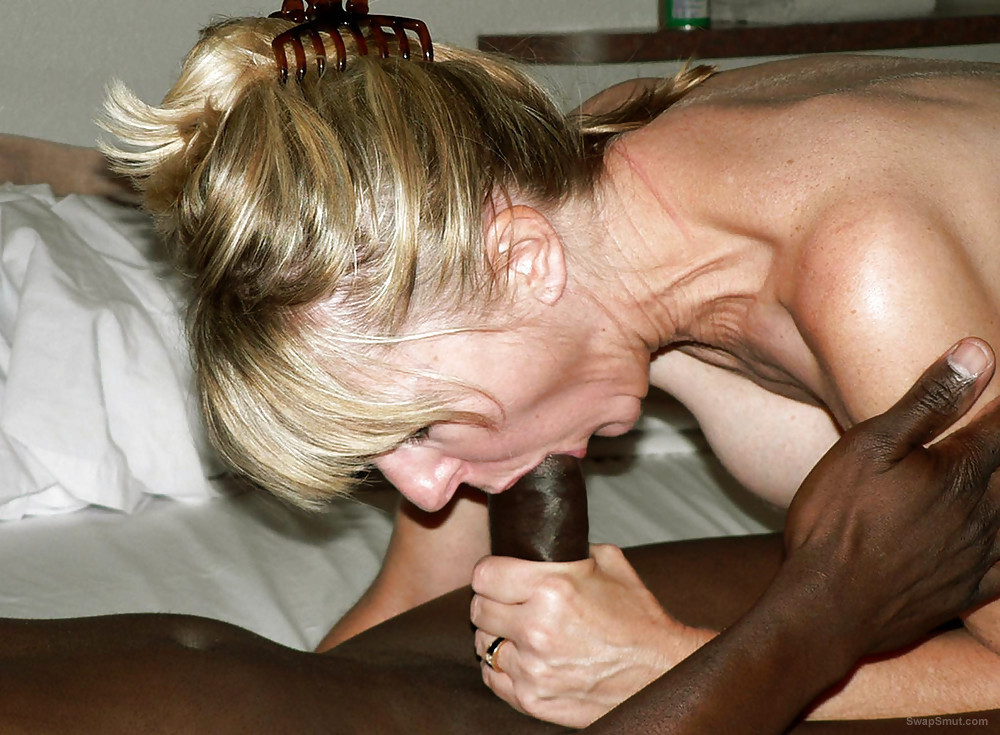Whore wives taking on a big black dick for the first time