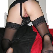Mary in Nylons and see through, first album of six