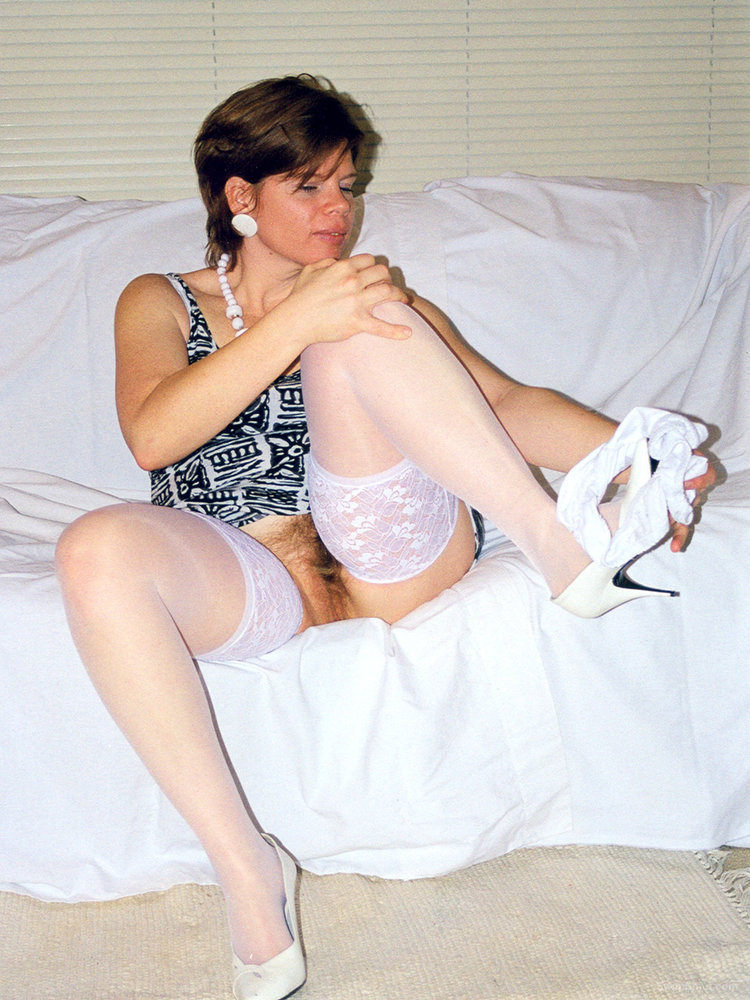 White Stockings & Shoes