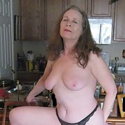 Mature poser 66th birthday pics part 1 topless wearing heels