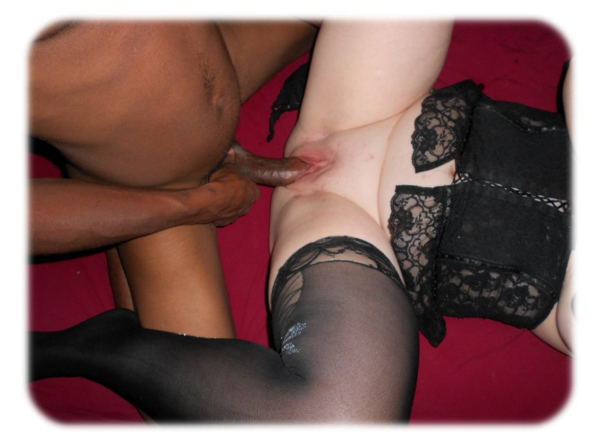 My wife with her new bull for the first time interracial homemade porn