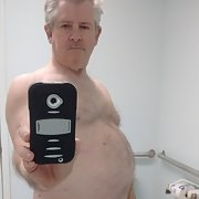 Favorite island mirror naked selfie