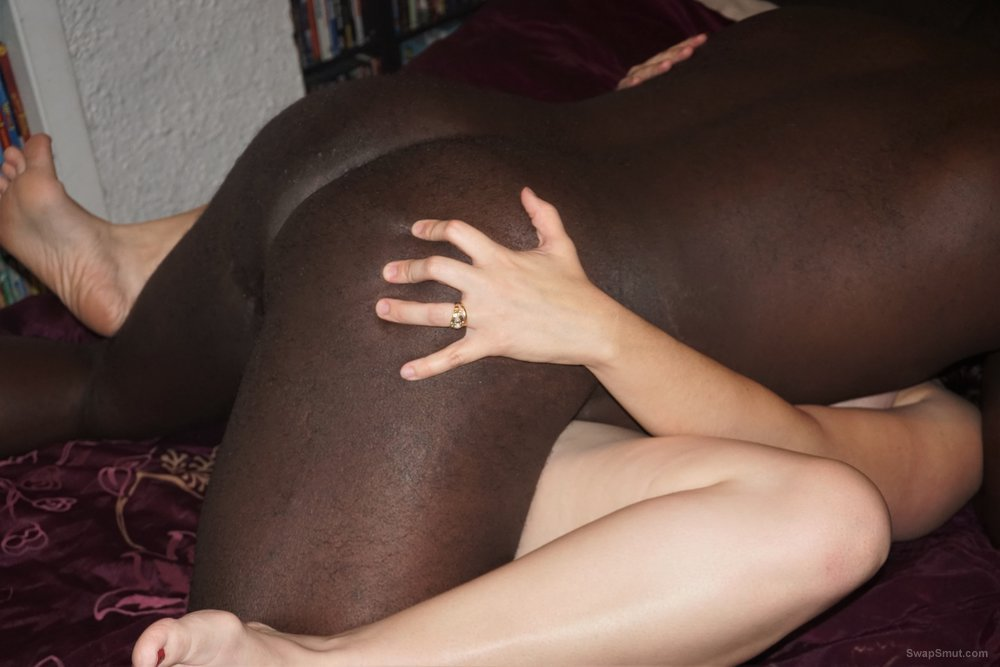A chubby but sexy wife like her man meat hard and dark