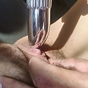 My wife's luscious wet lippy pussy in action