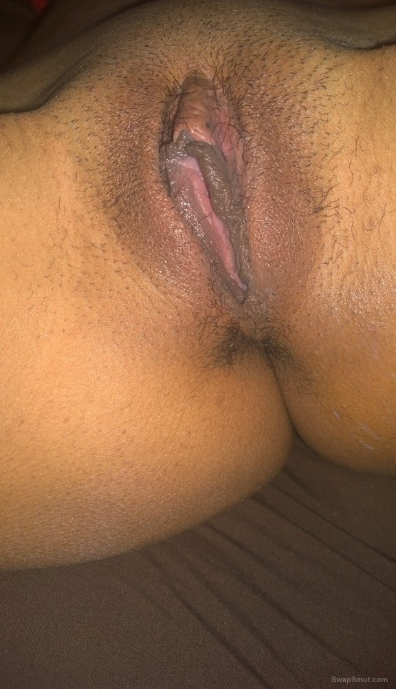 My wife's Puerto Rican pussy, hope you like