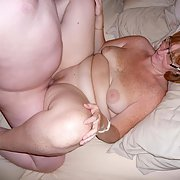 Our swinger friends MARIA and DAN a little plump but hot
