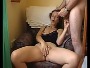 Mature housewife masturbating letting go at orgasm