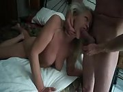 Playful mature bitch loves the feeling of a hard dick in her mouth