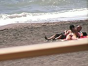Blowjob On The Beach