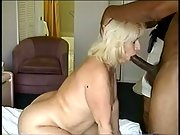 BBW Blonde Banged By Big Dicked Black Stranger While Hubby Takes Photo