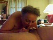 sub/slut sucking neighbors cock
