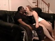 A chubby wife having fun with hubby's well hung mate part 1