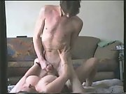 Mature amateur fucked on the floor