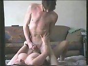 Mature amateur fucked on the floor