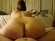 Wife moving her hips up and down my shaft